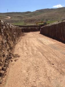 İstinat Duvarı Temel Kazısı
